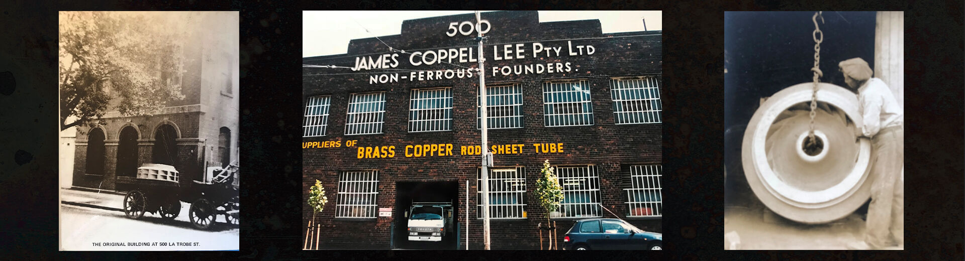 James Coppell Lee Foundry